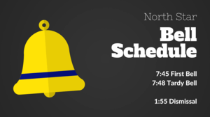 Bell Schedule graphic